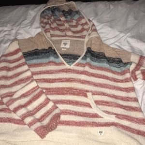 Billabong, barely worn, light sweatshirt